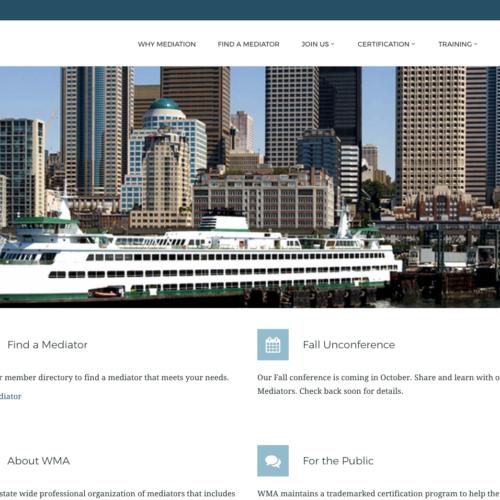 Washington Mediation Association Home Page