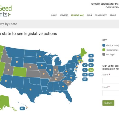 SingleSeed Cannabis Map